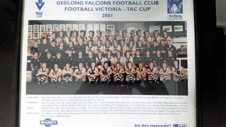 Former Ipswich Eagles captain Nick Barling played with some AFL greats during his time with the Geelong Falcons TAC Cup team.