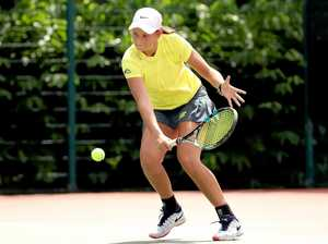 TENNIS PRODIGY: Dalby's Megan Smith has won the U16 WTA Futures Tournament in Singapore.