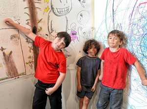 Unleashing creativity in a Big way at gallery