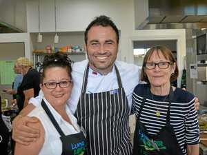 Miguel Maestre cooks up a storm in the Lockyer Valley