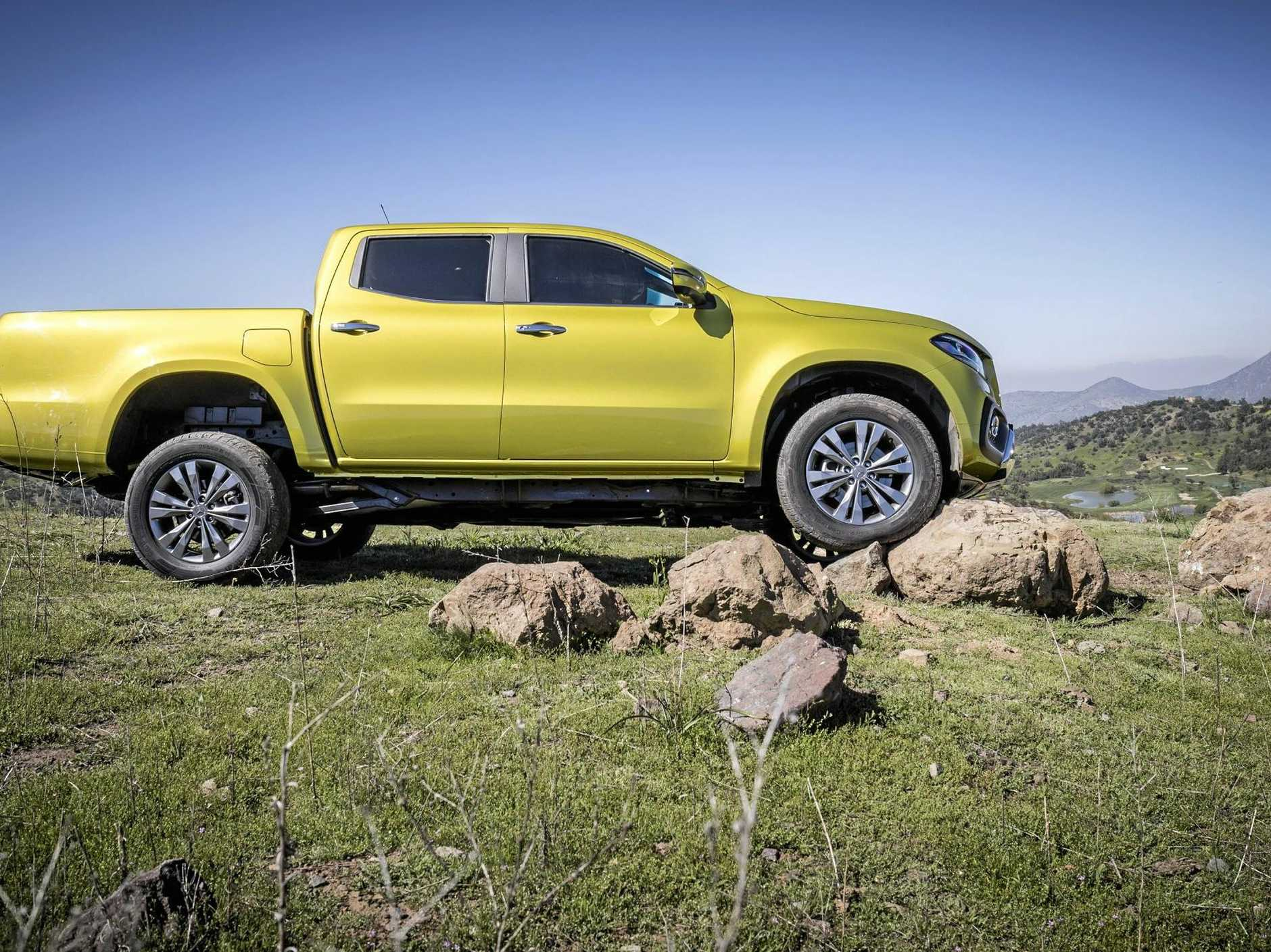 The Mercedes-Benz X-Class goes on sale in Australia from early 2018.