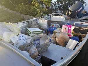 '$800 of tobacco': Baffle boys deliver unusual flood relief