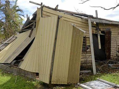 Damage at Wilmar's Proserpine Sugar Mill after Cyclone Debbie.