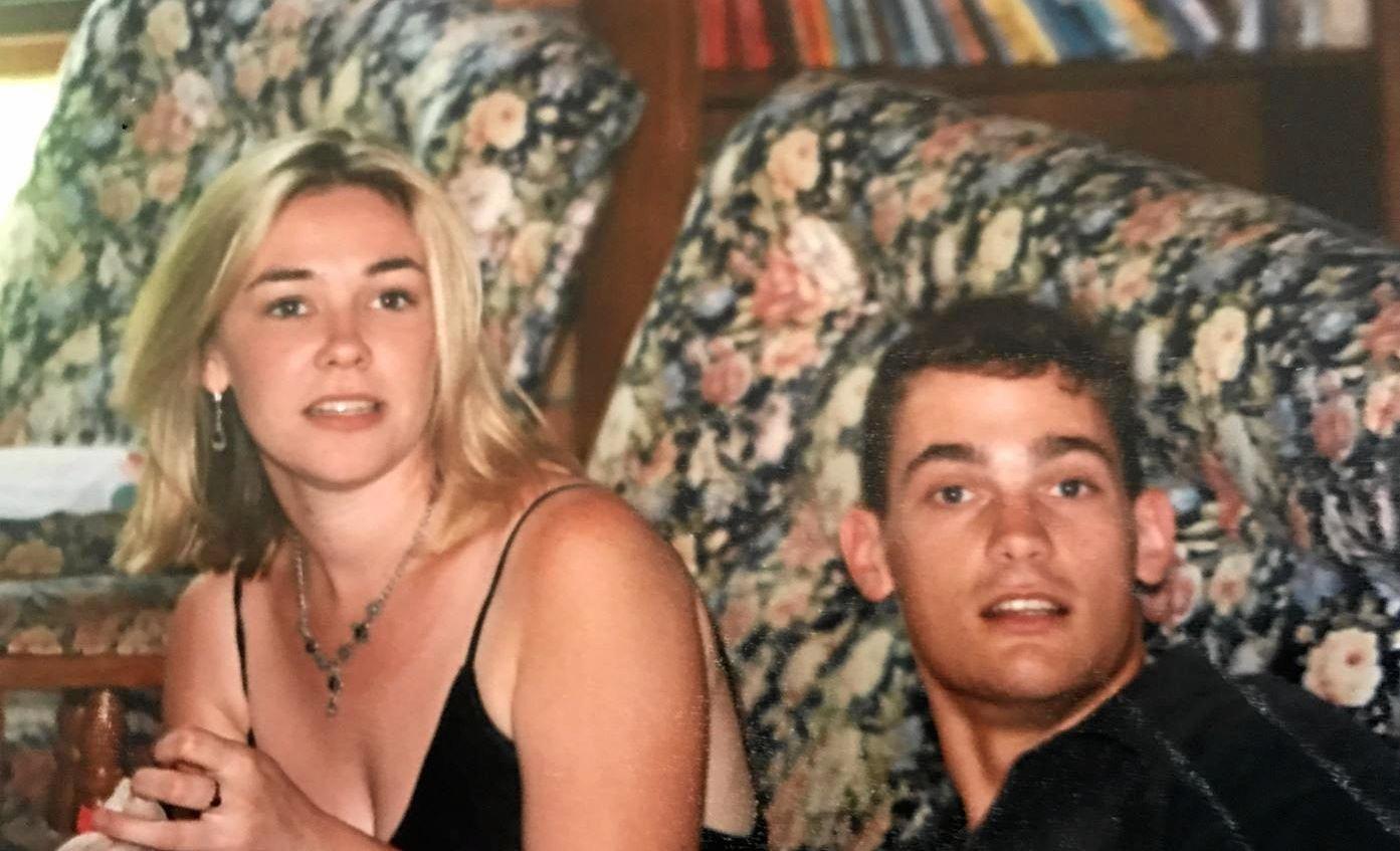 Sean Sargent with his ex-girlfriend Lisa George.