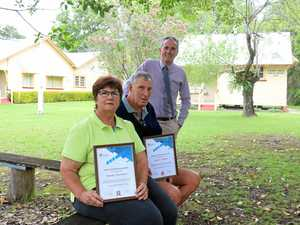 Recognition for long serving volunteers
