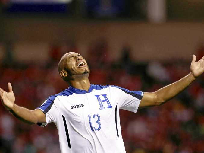 Honduras' Eddie Hernandez is extremely doubtful for next month's world cup playoffs with Australia.