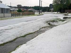 Hail devastating for our local producers