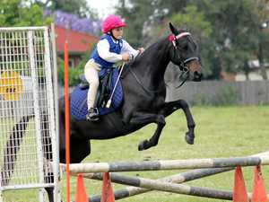 STRONG RIDE: Grafton Pony Club will host the Clarence Valley Equestrian Challenge this weekend.