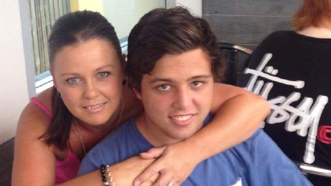Dylan Carpenter with his mum Natalie.