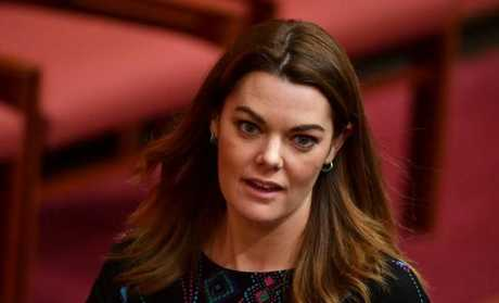Australian Greens Senator Sarah Hanson-Young said that the majority of people on welfare are pensioners. Picture: AAP Image/Mick Tsikas