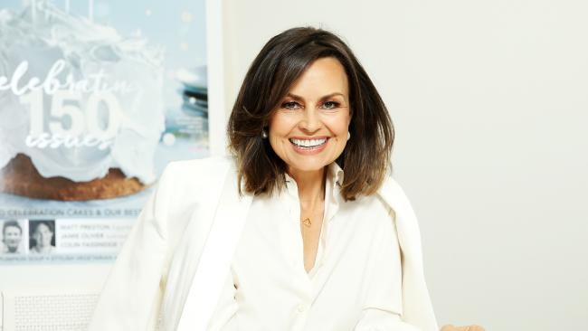Lisa Wilkinson in the Newscorp Offices today as guest Editor of Delicious Magazine. Picture: Tim Hunter.