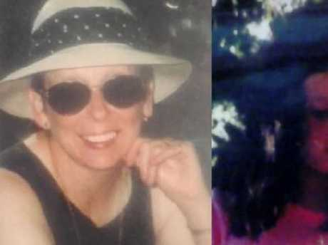 Loren's mum (left) and Loren as a child (right). Picture: Supplied.