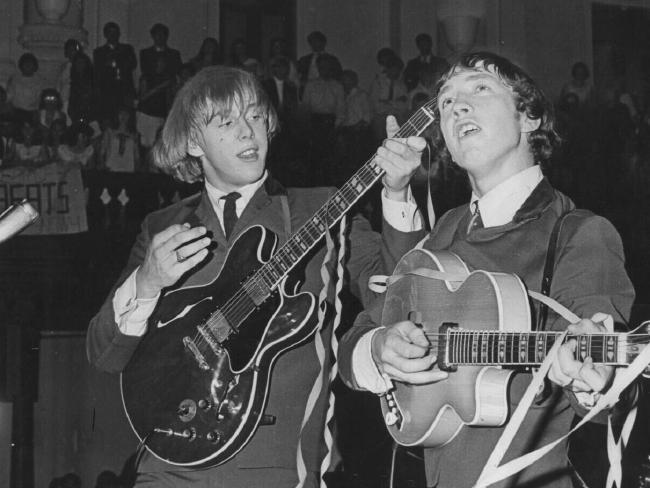 Harry Vanda and George Young in the heyday of The Easybeats.