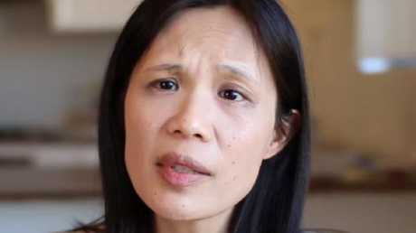 Dr Pansy Lai is in the new ad for the Coalition for Marriage. Picture: Supplied