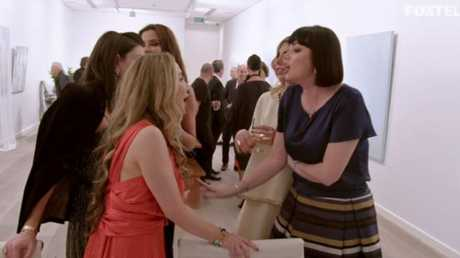 Real Housewives of Sydney showing the major fight between Krissy and Lisa.