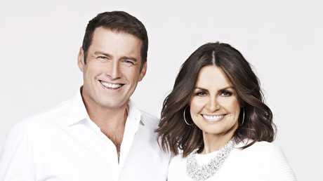Karl Stefanovic and Lisa Wilkinson had undeniable chemistry, and that's something money can't buy.(Pic: Nine Network)