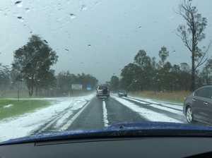 WATCH THE VIDEO: Hail slams into Sunshine Coast