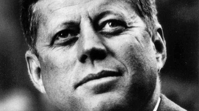 US HISTORY: President John Fitzgerald Kennedy, 1961-1963. Portrait distributed by the White House.