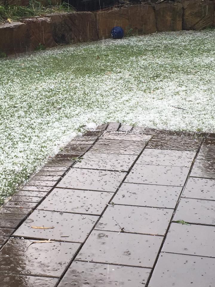 Lucinda Paynter: Hail at Gowrie Junction