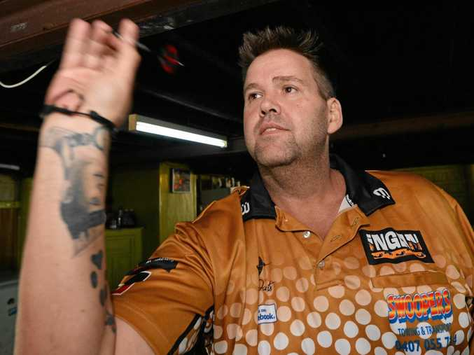 ON TARGET: Rockhampton's Heath Daley is one of four locals who will play for the Indigenous Allstars who are keen to make their mark at the Australasian Darts Championships.