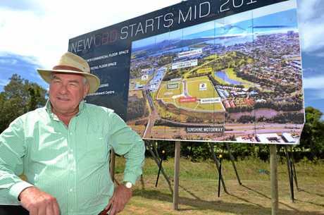 The man behind the masterpiece, Sunshine Coast architect Ken Down.