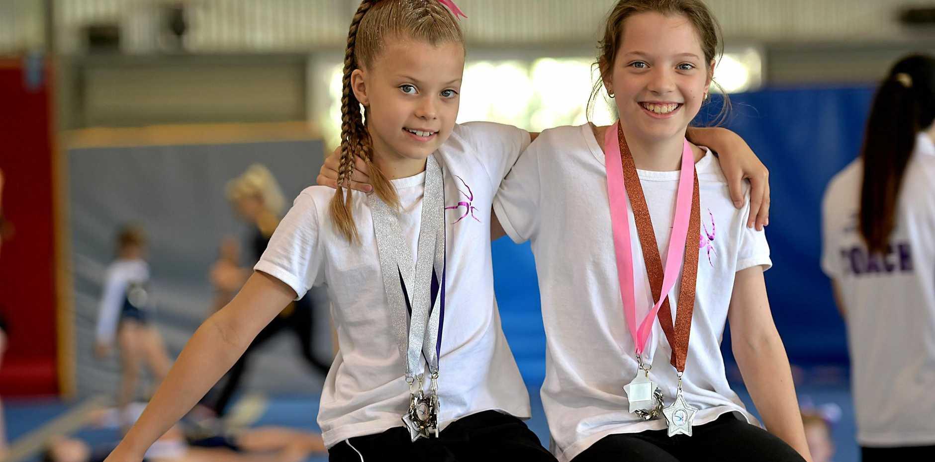 Ahlia Williamson and Mikayla Eichhorn.