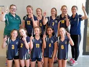 Burnside juniors get state volleyball title