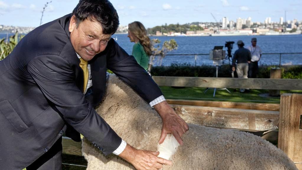 SECRET OBSERVER: Australian Wool Innovation chairman Wal Merriman.