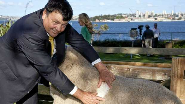SECRET OBSERVER: Australian Wool Innovation chairman Wal Merriman.