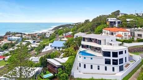 STUNNING: This Coolum Beach mansion is on the market, with international interest piqued by the property.