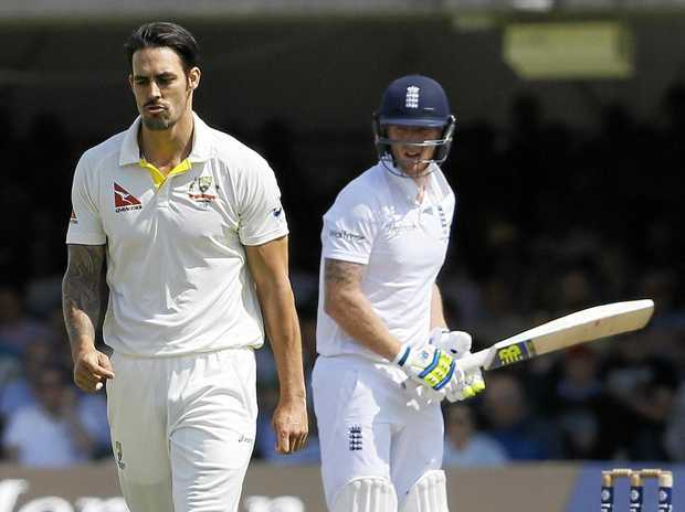 Mitchell Johnson says don't write off England if Ben Stokes (right) doesn't play in this year's Ashes.