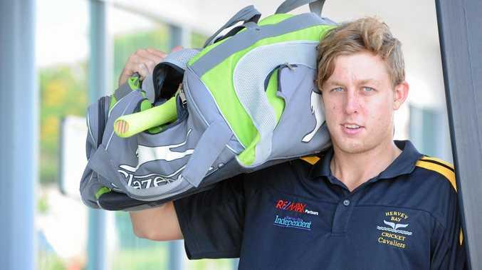 Cricket player Tom Freshwater heading to Scotland.