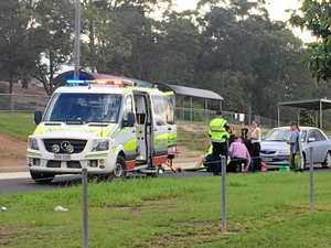 Gympie student hit by car outside school