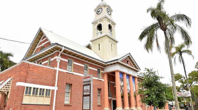 Maryborough City Hall.Photo: Alistair Brightman / Fraser Coast Chronicle
