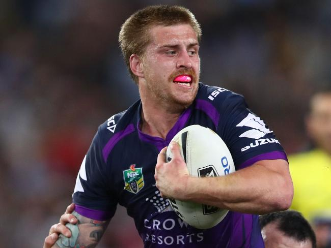 Cameron Munster in action for the Storm.