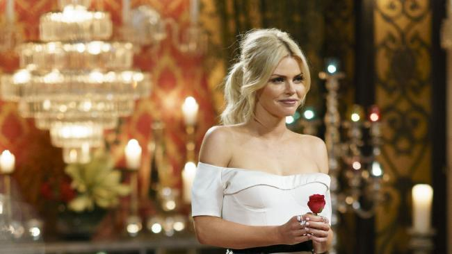 Sophie Monk will hand out her final rose during Thursday's Bachelorette season finale. Picture: Channel 10