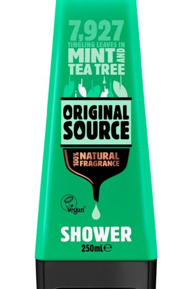 The mint Original Source shower gel went viral for tingling intimate areas.