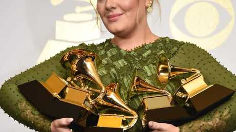 Adele is said to be heading to Las Vegas. Picture: AFP/Robyn Beck
