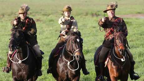 The Light Horse Museum will unveil a memorial commemorating the battle next week. Picture Glenn Hampson