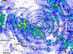 Radar glitch creates eye of storm