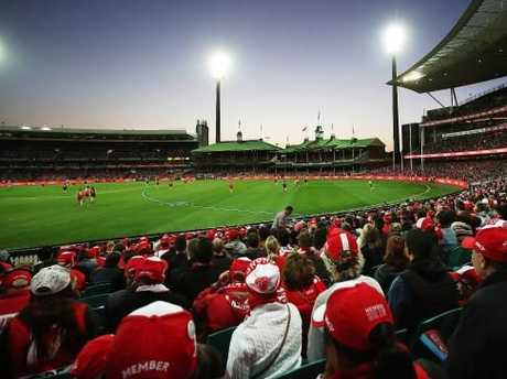 Sutherland believes huge crowds attracted to the SCG by the Sydney Swans and Sydney Sixers warrant more funding to fix the venue. Picture: Phil Hillyard