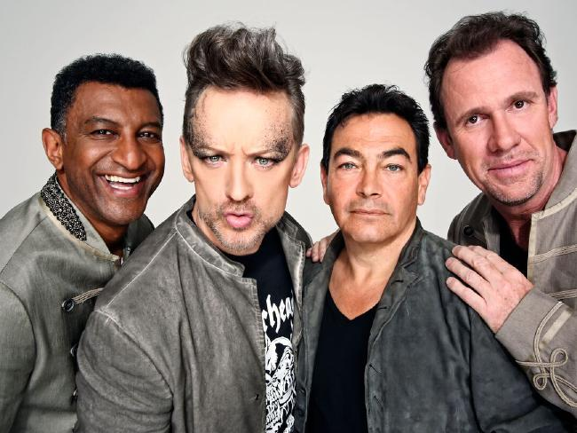 Mikey Craig, Boy George, Jon Moss and Roy Hay are Culture Club. Picture: Supplied