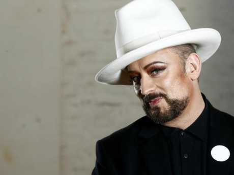 Boy George has recently realised how bad the contracts he signed in the 80s were. Picture: John Appleyard