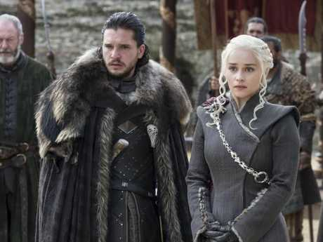 Lovers Jon Snow and Daenarys Targaryen are about to find out they're related.