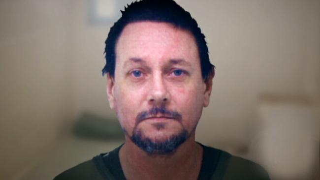 Brett Peter Cowan in prison. Picture: Channel 7
