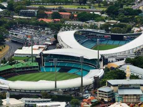 The SCG and Allianz Stadium are hoping for a large chunk of the $1.6 billion stadiums package. Picture: Mark Evans