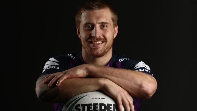 Cameron Munster during a Melbourne Storm NRL training session. Photo: Scott Barbour/Getty Images