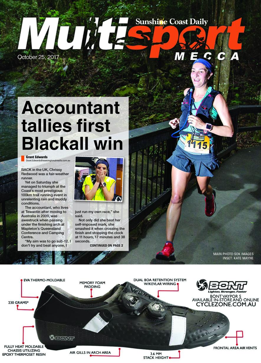 The October 25 edition of Sunshine Coast Multisport Mecca.