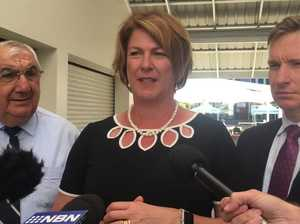 Roads Minister Melinda Pavey in Lismore