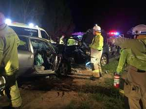 Mother, daughter among seriously injured in head-on crash
